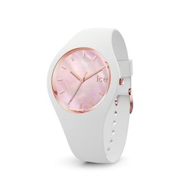 Ice Watch Ice Watch IW017126 Horloge Ice Pearl White Pink Medium