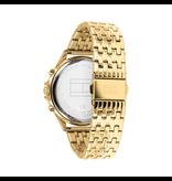 Tommy Hilfiger Tommy Hilfiger TH1782142 Horloge Ari dames staal goudkleurig met Zirkonia