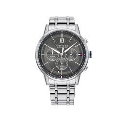 Tommy Hilfiger Tommy Hilfiger TH1791632 Horloge Kyle Staal Dual Time