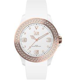 Ice Watch Ice -Watch IW017233 Horloge Ice Star White Rosé Gold M