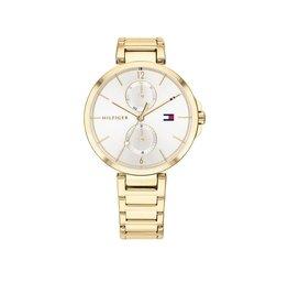 Tommy Hilfiger Tommy Hilfiger TH1782128 Horloge Dames Angela Staal goudkleur