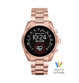 Michael Kors Michael Kors MKT5086 Smartwatch Bradshaw Gen 5 Staal Rosé kleur