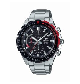 Edifice Edifice EFR-566DB-1AVUEF Horloge Chrono Staal Zwart/Rood