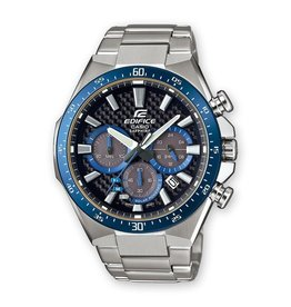 Edifice Edifice EFS-S520CDB-1BUEF Horloge Heren Chrono Staal Carbon Sapphire