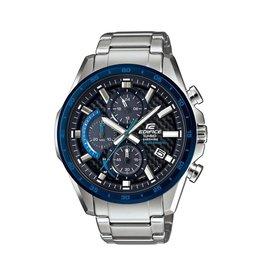 Edifice Edifice EFS-S540DB-1BUEF Horloge Heren Chrono Staal Carbon Sapphire Solar