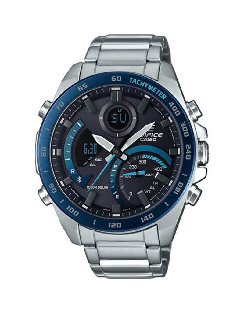 Edifice Edifice ECB-900DB-1BER Horloge Heren Staal Bluetooth Tough Solar