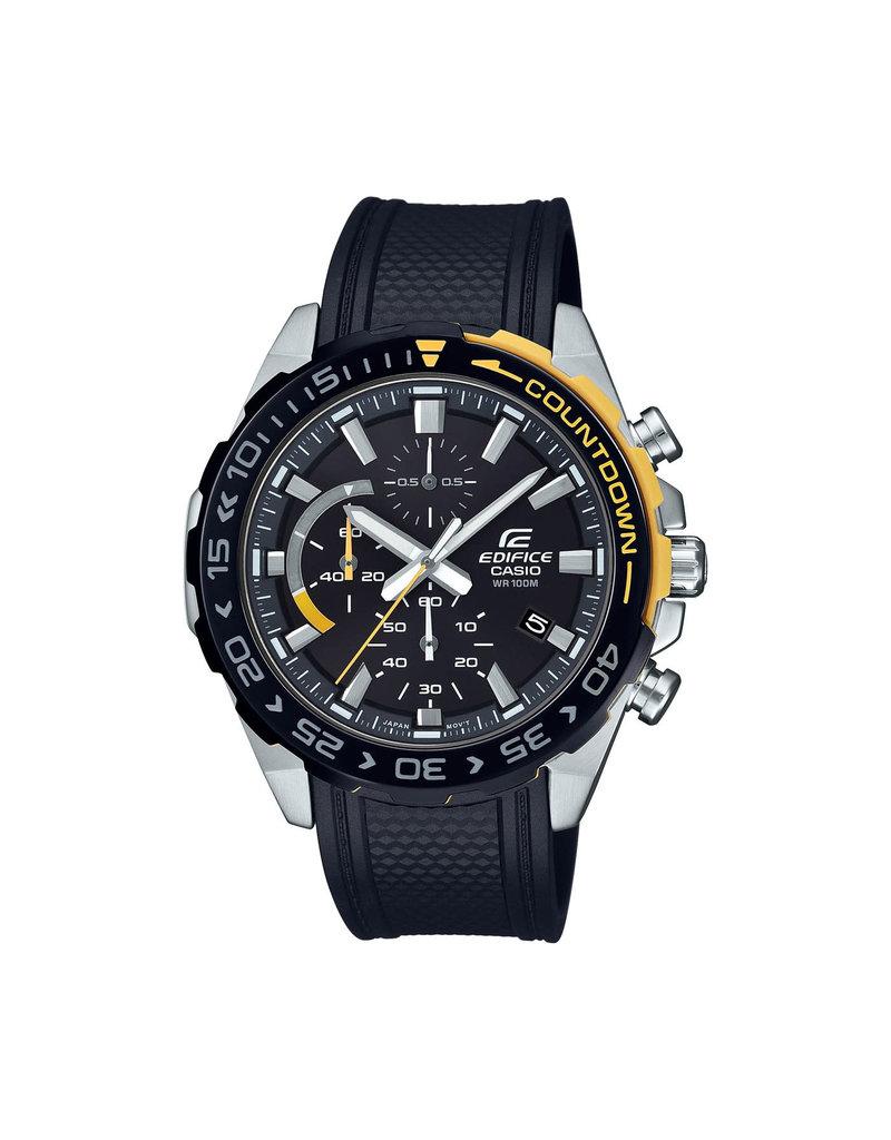 Edifice Edifice EFR-566PB-1AVUEF Horloge Zwart/Geel Chrono