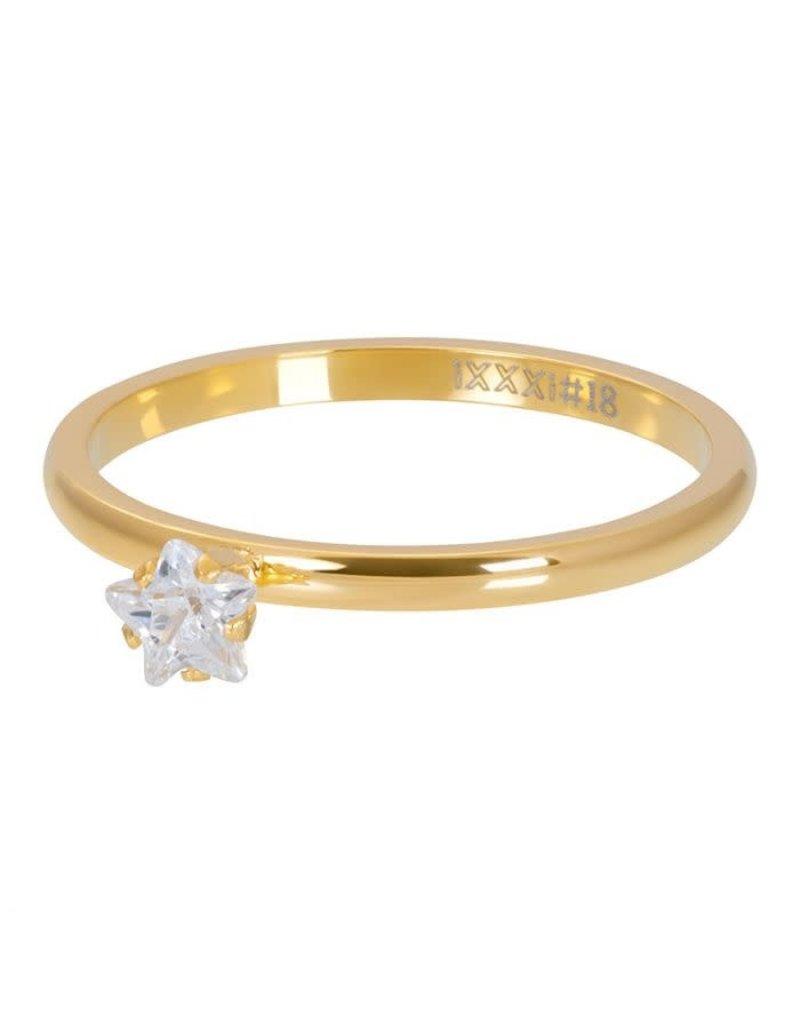 iXXXi iXXXi R04209-01 17 Ring Star Crystal Stone