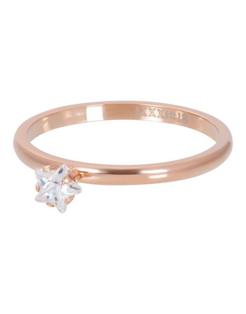 iXXXi iXXXi R04209-02 17 Ring Star Crystal Stone