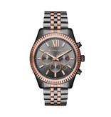 Michael Kors Michael Kors MK8561 Horloge Heren Staal Gun Metal/Rosé