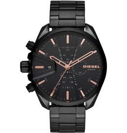 Diesel Diesel DZ4524 Horloge Heren Chrono Staal Zwart
