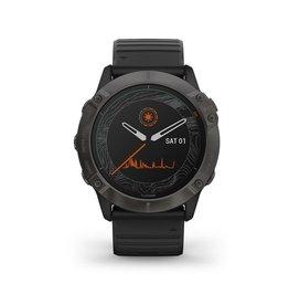 Garmin Garmin 010-02157-21 Smartwatch Fenix 6X pro Solar Carbon Grey DLC