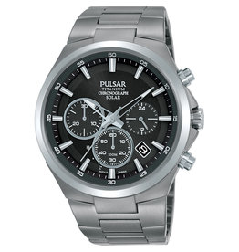 Pulsar Pulsar PZ5097X1 Horloge Heren Chrono Titanium Solar