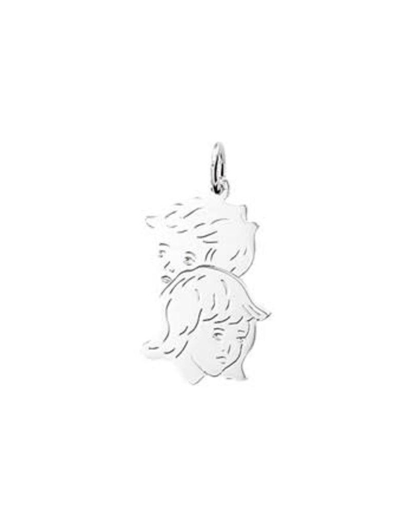 Huiscollectie - Zilver Kasius 10.05215 Bedel Kinderhoofd Zilver