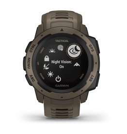 Garmin 010-02064-71 Instinct Tactical Smartwatch Coyote Tan