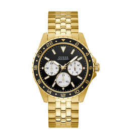 Guess Guess W1107G4 Horloge heren Chrono Staal Goud