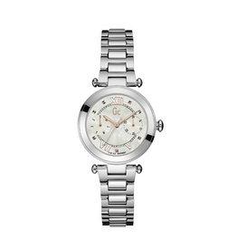 GC GC Y06010L1MF Horloge  dames Sport Chic Staal  met stalen band en Mother of Pearls wijzerplaat  en zwitsers uurwerk