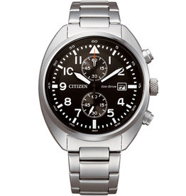 Citizen CA7040-85E Horloge Heren Eco Drive Chrono Staal