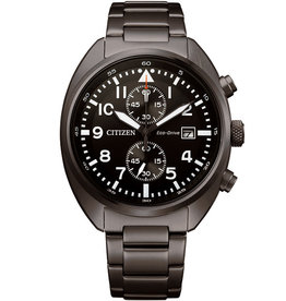 Citizen CA7047-86E Horloge Heren Eco Drive Chrono Staal