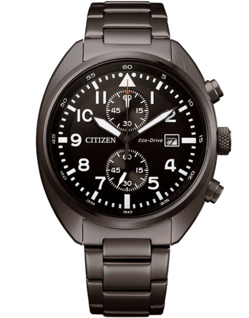 Citizen CA7047-86E Horloge Heren Eco Drive Chrono Staal
