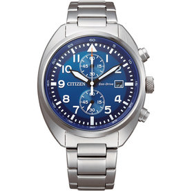 Citizen CA7040-85L Horloge Heren Eco Drive Chrono Staal
