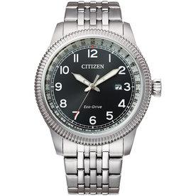 Citizen BM7480-81L Horloge Ecodrive Staal