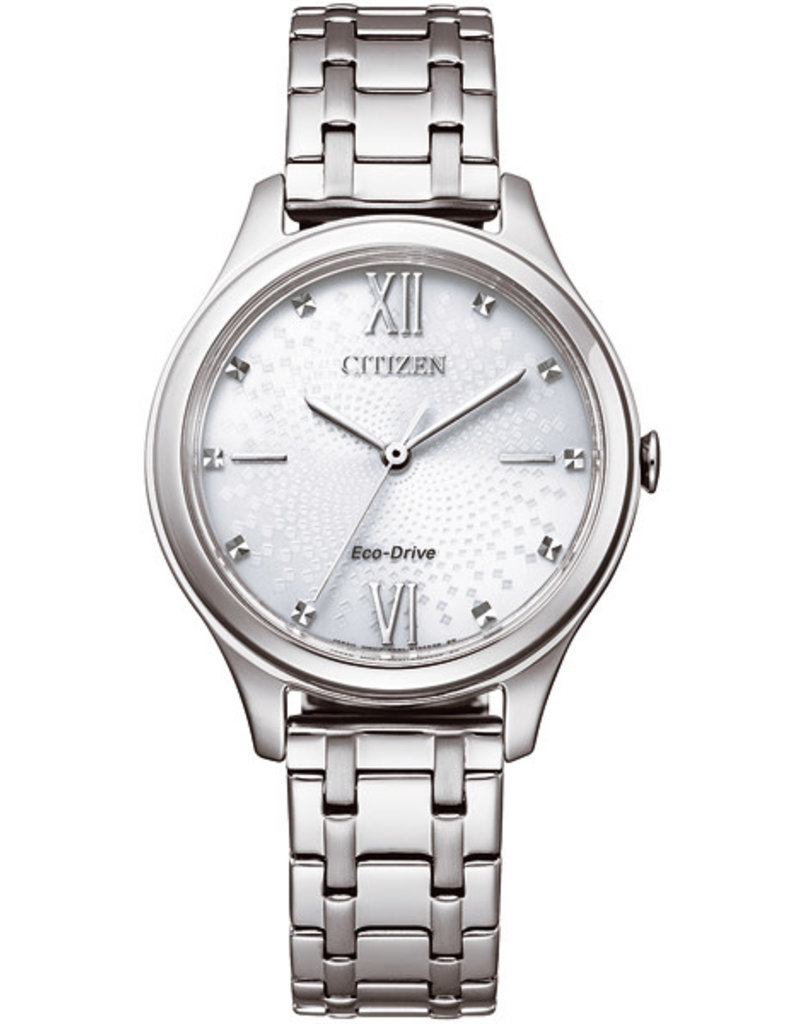 Citizen EM0500-73A Horloge Dames Ecodrive Staal