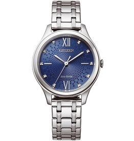 Citizen EM0500-73L Horloge Dames Ecodrive Staal