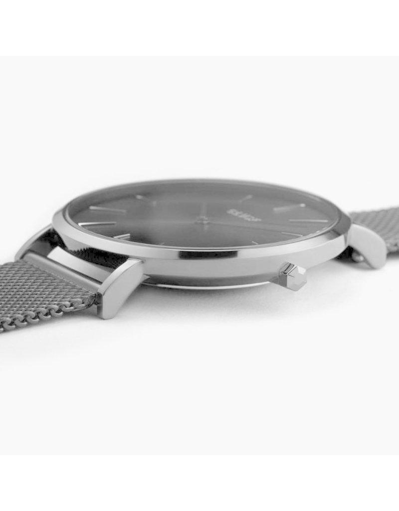 Cluse Cluse CW0101201022 Horloge La Boheme Mesh Dark Grey