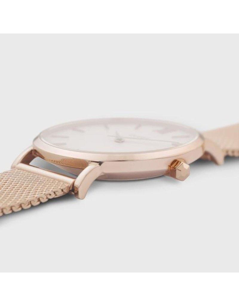 Cluse Cluse CW0101203001 Horloge Minuit Mesh Rosé Gold