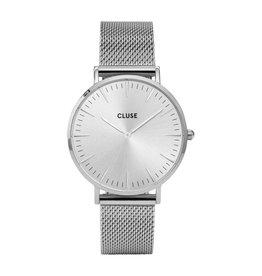Cluse Cluse CW01012013 Horloge La Boheme Mesh Silver