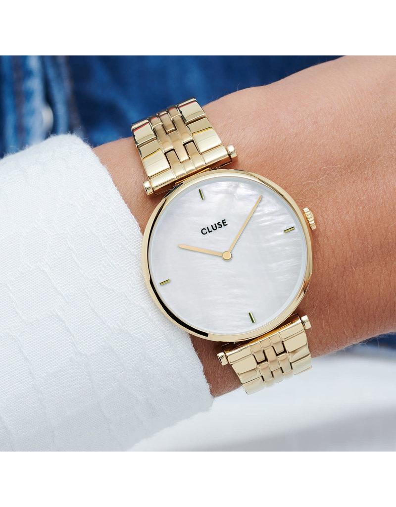Cluse Cluse CW0101208014 Horloge Dames Triomphe 5-Link Gold