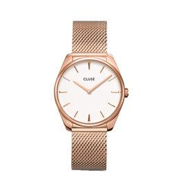 Cluse Cluse CW0101212002 Horloge Dames Féroce Mesh Rosé Gold