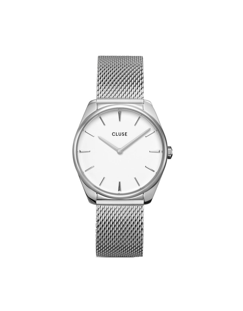 Cluse Cluse CW0101212001 Horloge Dames Silver Mesh