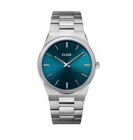 Cluse Cluse CW0101503003 Horloge heren Vigoureux 40 Petrol Blue