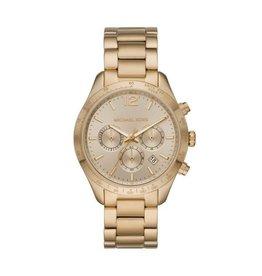 Michael Kors MK6795 Horloge Dames Staal Goud kleurig