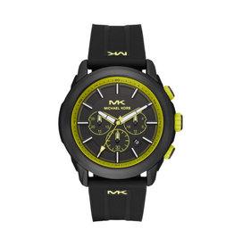 Michael Kors MK8798 Horloge Heren Kyle Chrono Staal Zwart