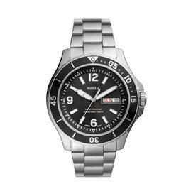 Fossil Fossil FS5687 Horloge Diver Staal Zwart
