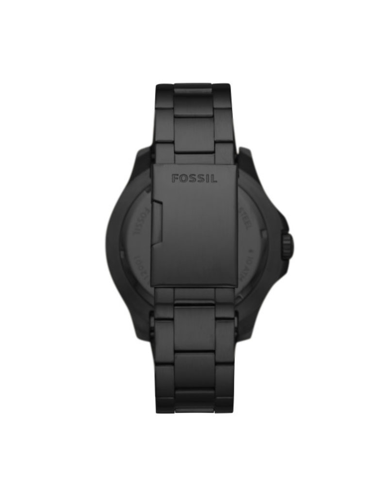 Fossil Fossil FS5688 Horloge Diver Staal All Black