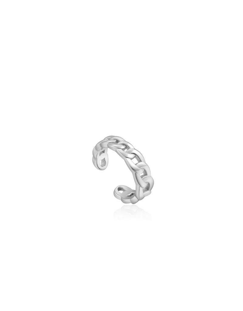 ANIA HAIE JEWELRY Ania Haie AH E021-05H Earcuff zilver Curb Chain