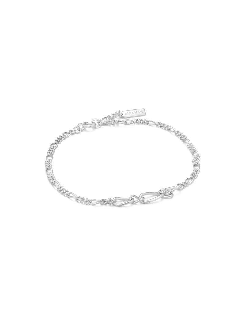 ANIA HAIE JEWELRY Ania Haie AH B021-03H Armband Zilver Figaro Chain
