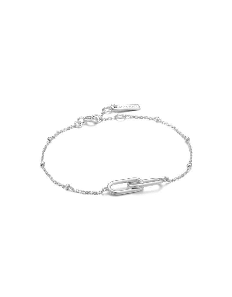 ANIA HAIE JEWELRY Ania Haie AH B021-01H Armband Zilver Beaded Chain Link