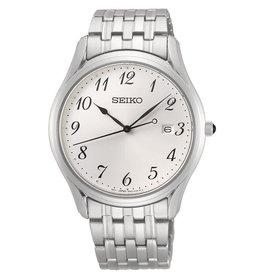Seiko SUR299P1 Horloge Heren Staal wit Sapphire