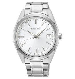 Seiko Seiko SUR307P1 Horloge heren staal wit sapphire glas