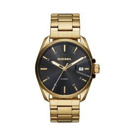 Diesel DZ1865 Horloge heren Staal goldplated zwart