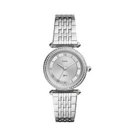 Fossil Fossil ES4712 Lyric  Horloge dames Staal met zirkonia