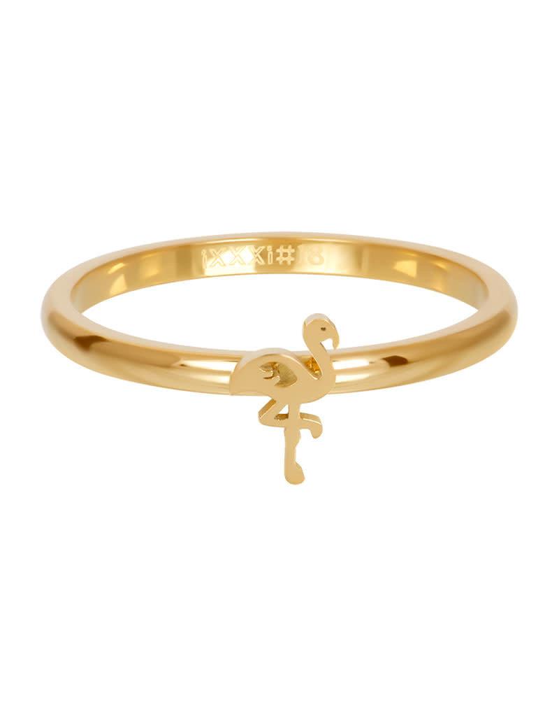 iXXXi iXXXi R03510-01 19 Ring Flamingo goud maat 19