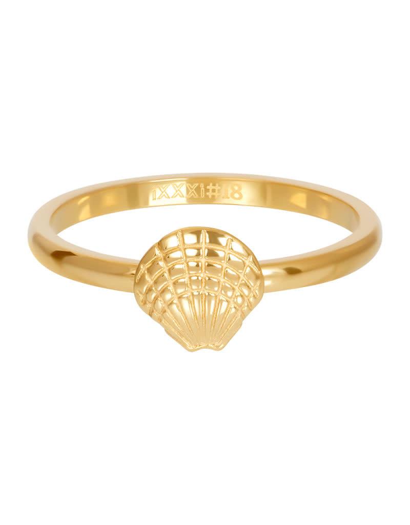 iXXXi iXXXi R03508-01 18 Ring Schelp goud maat 18