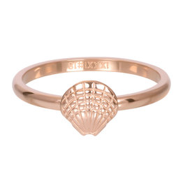 iXXXi iXXXi R03508-02 17 Ring Schelp rosé maat 17