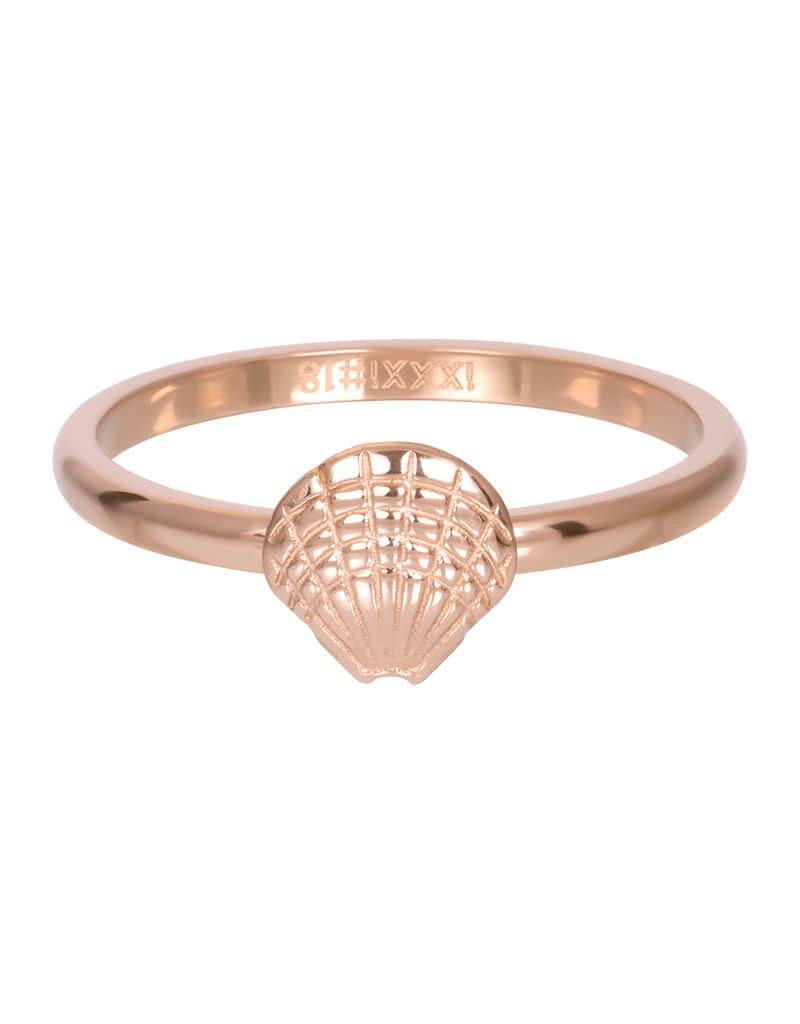 iXXXi iXXXi R03508-02 18 Ring Schelp rosé maat 18